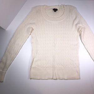 TALBOTS Pima cotton sweater